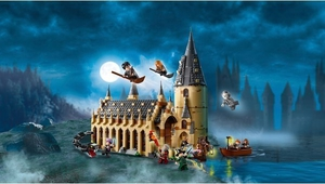 LEGO is always popular, but this Hogwarts set is absolutely magical. Photo: Smyths