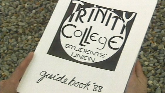Trinity College Dublin Students' Union Guidebook (1988)