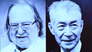 James P Allison and Tasuku Honjo will share the winning prize of nearly €900,000