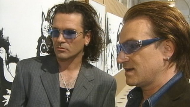 Gavin Friday and Bono (2003)