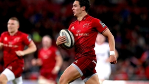 Joey Carbery scored 18 points against Ulster