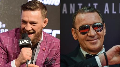 "Conor McGregor jokes about dad Tony's ""coinage"" video"