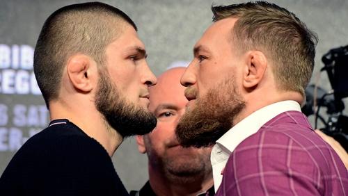 Khabib Nurmagomedov and Conor McGregor will clash in the octagon this weekend