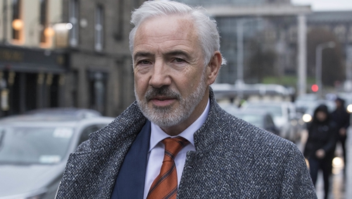 Representing himself Mr Sean Dunne, who now resides in Ascot in the UK, said the injunction was both a fraud against him, and the court