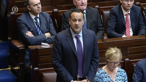 Leo Varadkar said the Government defends the primacy of the agreement