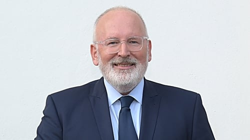 Frans Timmermans said the EU is integral to the success of the Good Friday Agreement