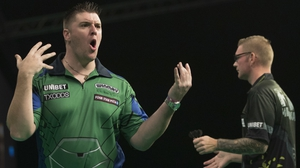 Daryl Gurney won his seventh game in a row at the Dublin venue
