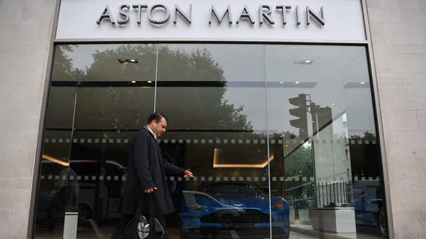 Aston Martin debuts in London stock exchange at £19 per share