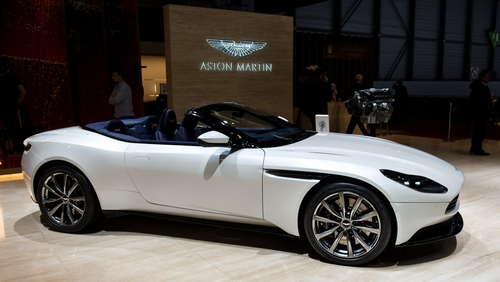 Aston Martin shares start trading at $24, value company at $5.6B