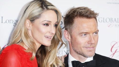 Ronan Keating gushes about wife Storm