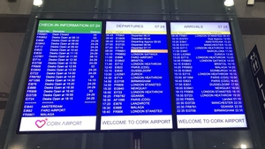 Flights resumed 'as scheduled' today at Cork and Shannon airports