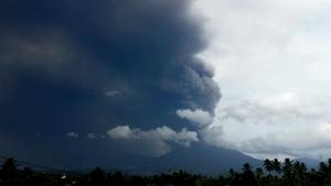 Soputan volcano erupted but no casualties were reported