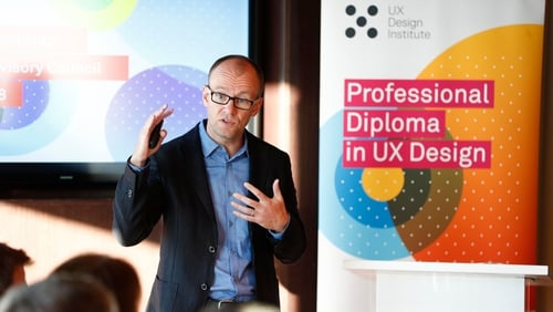 UX Design Institute's CEO and founder Colman Walsh says UX is fast becoming the de facto process for developing software