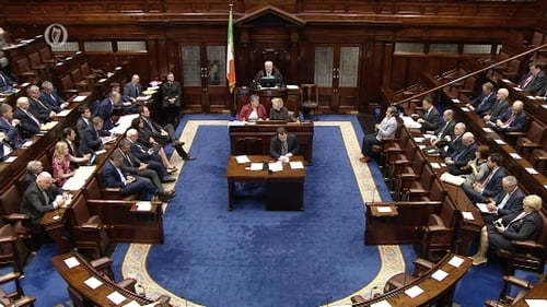 The Dáil will be in recess next week