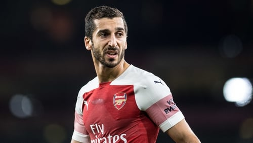 Henrikh Mkhitaryan will not be heading to Baku