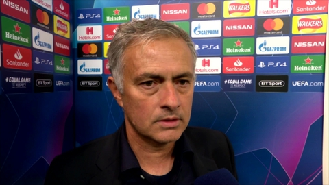 """Mourinho: """"When you don't have special qualities, you cannot ask for special things"""""""