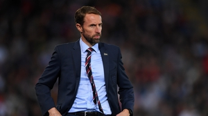 Gareth Southgate said that there were two women in his staff of 40