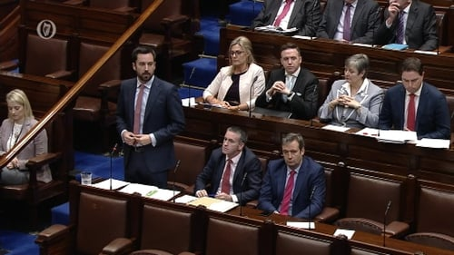 Eoghan Murphy reiterated that emergency responses were being put in place