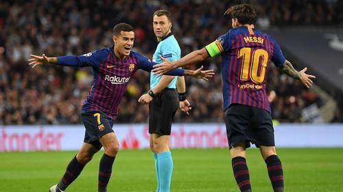 Barcelona Confirm Coutinho To Bayern Loan