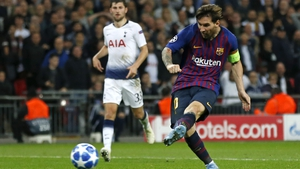 Lionel Messi lit up Wembley Stadium