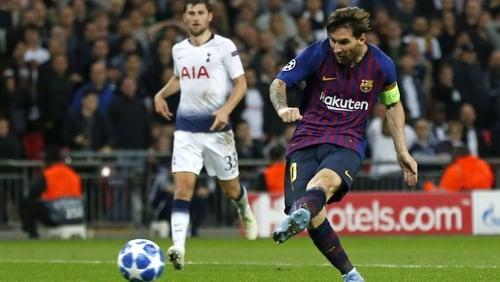 Lionel Messi lit up Wembley Stadium