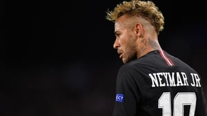 Neymar is preparing for the Copa America with Brazil