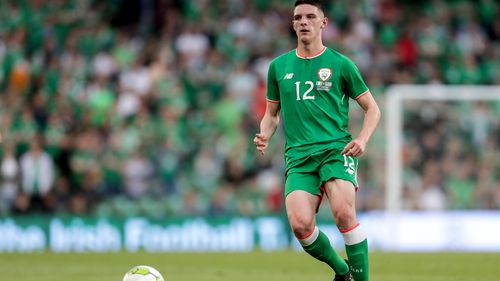 The international future of Declan Rice remains uncertain