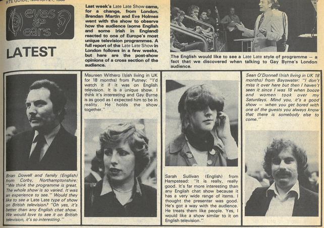 RTÉ Guide 21 March 1980