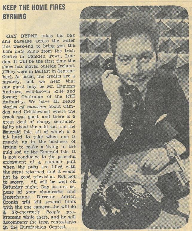 RTÉ Guide 15 March 1968