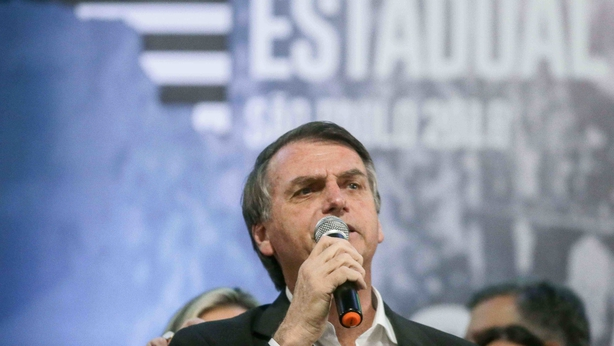 Brazil's Bolsonaro could become President in run-off