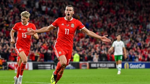 Gareth Bale scored in Wales' 4-1 over Ireland last month