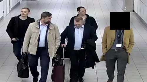 Dutch authorities expelled four Russian officers last April