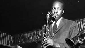 Hank Mobley performing at Birdland with the Jazz Messengers in 1959