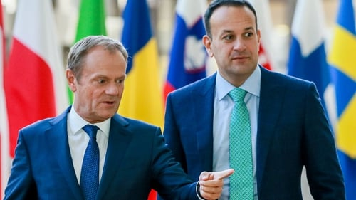 The Taoiseach said the Brexit negotiations were entering a critical phase and time was running out