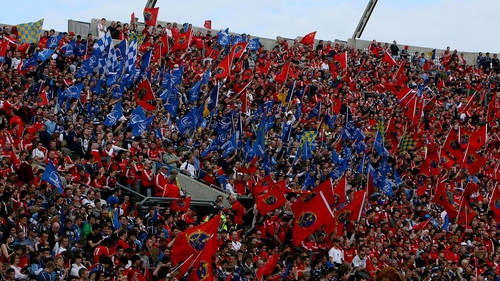 Leinster and Munster fans will flock to the Avia Stadium this weekend