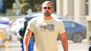 Ben Affleck pictured in Los Angeles on October 1