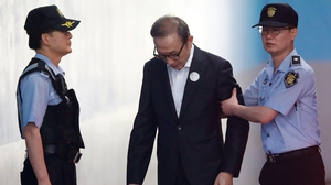 Lee Myung-bak is the fourth former president of South Korea to be jailed