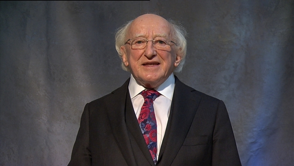 Presidential Pitch - Michael D Higgins