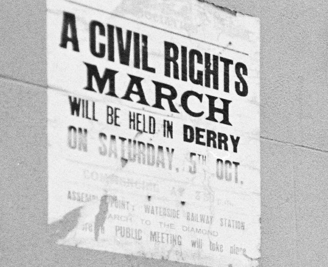 Civil Rights March Poster (1968)