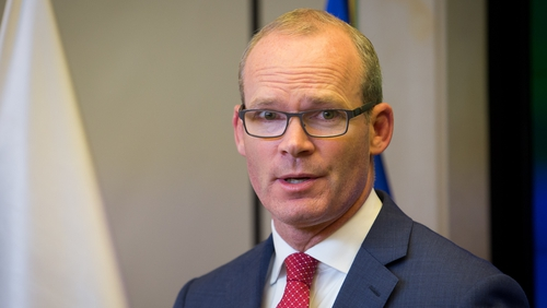 Simon Coveney said he is not sure what sources Brendan Howlin is getting his information from