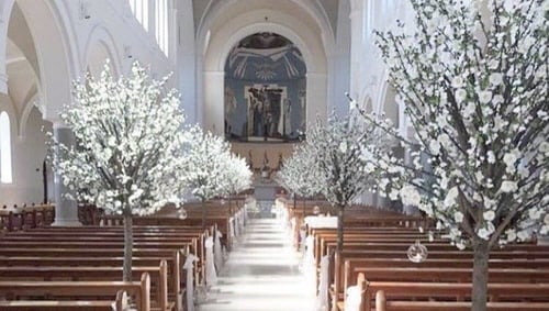 Wedding Almost Cancelled Over Fake Cherry Blossom Tree Decoration