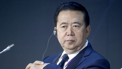 Meng Hongwei was reported missing by his wife