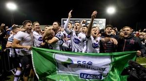 Dundalk celebrate their latest league title