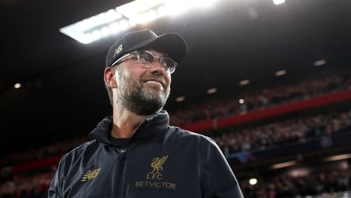 Jurgen Klopp is determined to win trophies as Liverpool manager