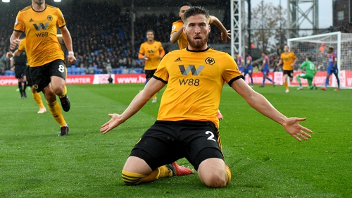 """Matt Doherty: """"A performance like the one against Arsenal was needed, to push those thoughts away."""""""