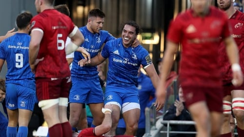 585c07d4e9b Munster laid Lowe as Leinster claim bragging rights