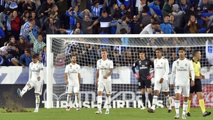 Real Madrid react after conceding