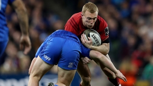 Keith Earls had a try chalked off at the Aviva