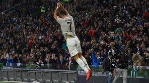 Cristiano Ronaldo's strike sealed the victory for Juventus