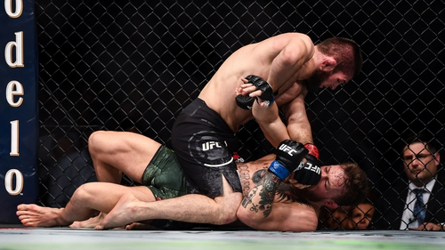 Khabib Nurmagomedov defeated Conor McGregor by submission at UFC 229 in 2018
